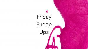 Adding Acrylic Close To The Cuticle {Friday Fudge Ups}