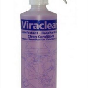 Viraclean Hospital-Grade Disinfectant Spray Bottle 500ml
